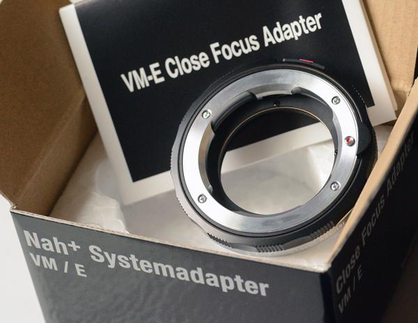 Voigtlander VM-E Close Focus Adapter for VM-Mount Lens to Sony E-Mount Camera