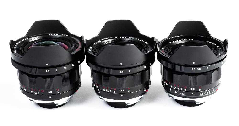 Voigtlander Leica M Mount lenses from the USA importer CameraQuest